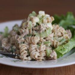Creamy Tuna Pasta Salad recipe