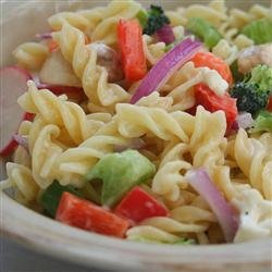 Eat Your Veggies Pasta Salad recipe