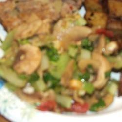 Mushroom Salad II recipe