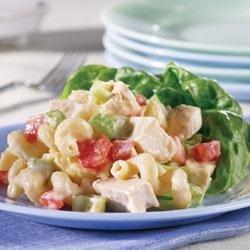 Campbell's(R) Healthy Request(R) Creamy Chicken Pasta Salad recipe