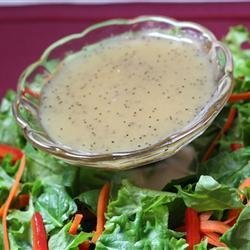Healthier Poppy Seed Salad Dressing for 2 recipe