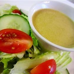 Lemony Caesar Salad Dressing recipe