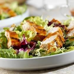 Tomato Asian Chicken Salad recipe