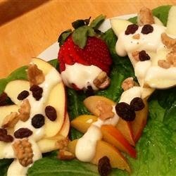 Waldorf Salad Nouveau recipe