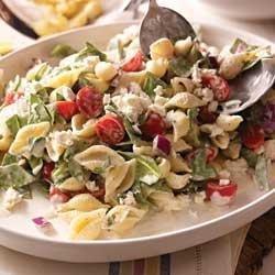 Philly Mediterranean Pasta Salad recipe