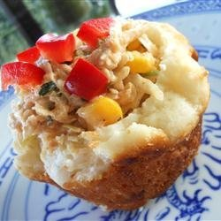 Asian Chicken Salad Cups recipe
