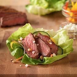 Inside-Out Grilled Steak Salad recipe