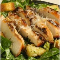 Smoked Chicken Caesar Salad with Maille(R) Dijon Originale Mustard recipe
