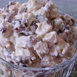 Chicken Salad with Bacon and Dates recipe