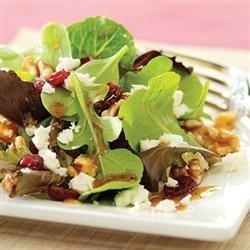 Cranberry and Feta Salad with Dijon Vinaigrette recipe