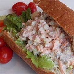 Beef Salad Sandwich Filling recipe