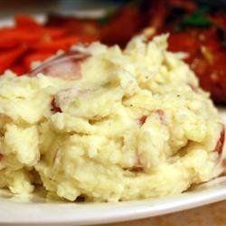 Suzy's Mashed Red Potatoes recipe