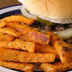 T's Sweet Potato Fries recipe