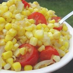 Daddy's Fried Corn and Onions recipe