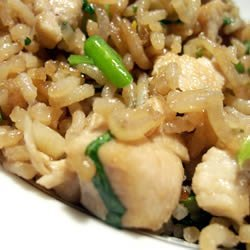 Fried Rice with Cilantro recipe