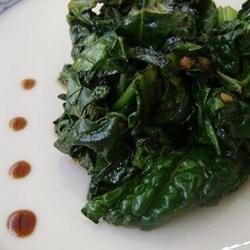 Spicy Bok Choy in Garlic Sauce recipe