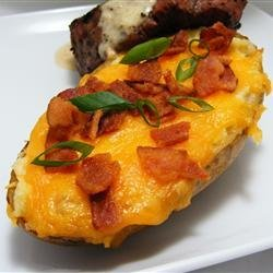 Twice Baked Potatoes II recipe