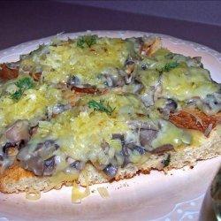 Mixed Wild Mushroom Saute on Toast Points (Rachael Ray) recipe