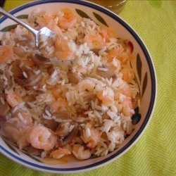 Jim's Solo Shrimp and Mushroom Pilaf recipe