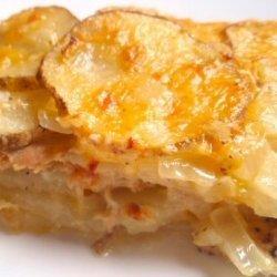 Salmon and Potato Casserole recipe
