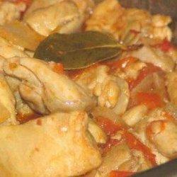 Tangy Chicken Stew recipe