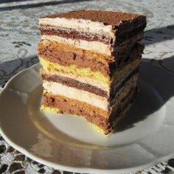 Mocha Layer Cake recipe