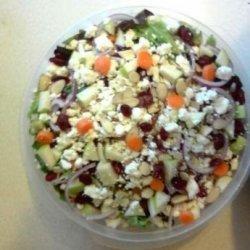 Tuscan Cranberry Almond Salad recipe