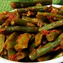 Green Beans in Tomato Salsa recipe