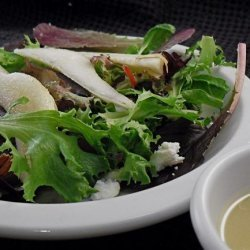 Wicklewood's Pear and Roquefort Salad recipe