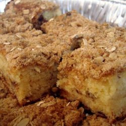 Crumb Cake or Coffee Cake With Easy Streusel Topping recipe