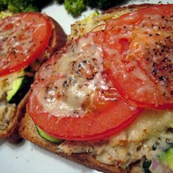 Low Cal Italian Tuna and Veggie Melt recipe