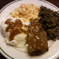 Onion and Brown Gravy Meatloaf recipe
