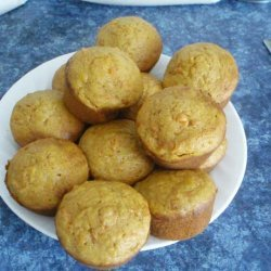 Carrot and Pumpkin Muffins recipe