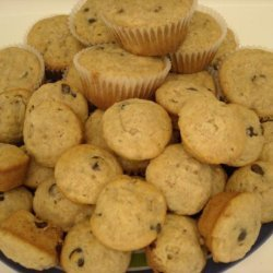 Mini Banana Chip Muffins recipe
