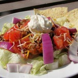 Low Fat Taco Salad recipe