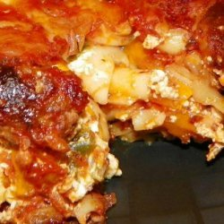 Sausage and Roasted Peppers Pasta Bake recipe
