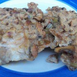 Pork Chops and Dressing recipe