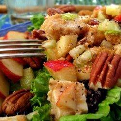 Apple Walnut Chicken Salad recipe