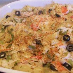 Sea Shell Crab Casserole recipe