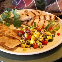 Stove Top Margarita Chicken With Fresh Corn Relish recipe