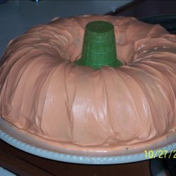 Pumpkin Patch Cake - Cute! recipe