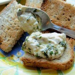 White Bean Dip With Basil Oil recipe
