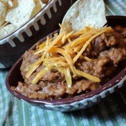 Lisa's Taco Bean Dip recipe
