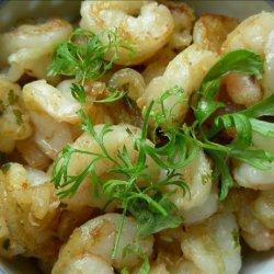 Salt and Pepper Gambas (Spanish-Style Shrimp) recipe