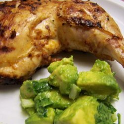 Chipotle Grilled Chicken With Avocado Salsa recipe