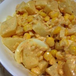 Potato, Egg and Corn Salad With Buttermilk recipe