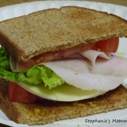 Deli Turkey Sandwich recipe