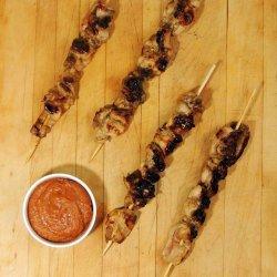 Chicken Satay With Spicy Peanut Sauce recipe