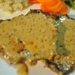 Veal in Mustard Cream Sauce recipe