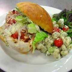 Italian Festival Chicken Sandwiches recipe
